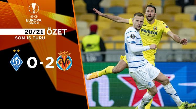 Dinamo Kiev Villarreal maç özeti
