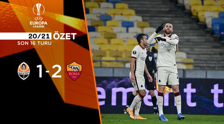Shakhtar Donetsk Roma maç özeti