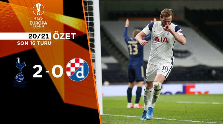 Tottenham Hotspur Dinamo Zagreb maç özeti