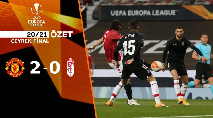 Manchester United Granada maç özeti