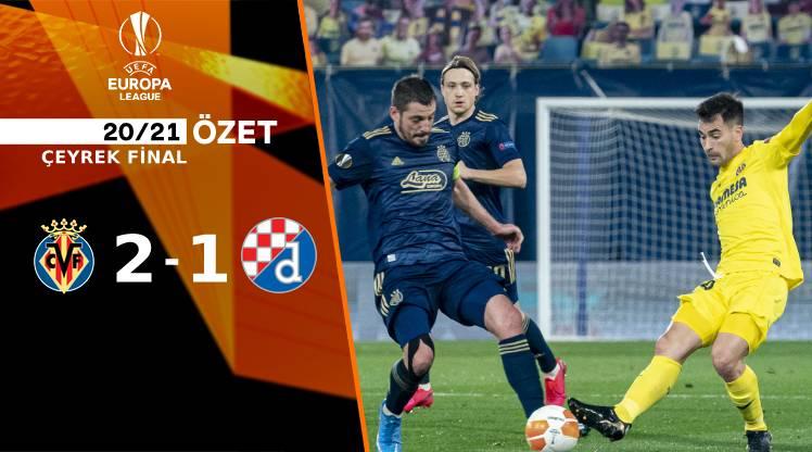 Villarreal Dinamo Zagreb maç özeti