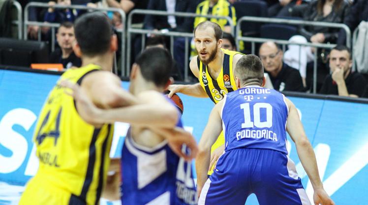 Fenerbahçe Beko Buducnost Voli maç özeti