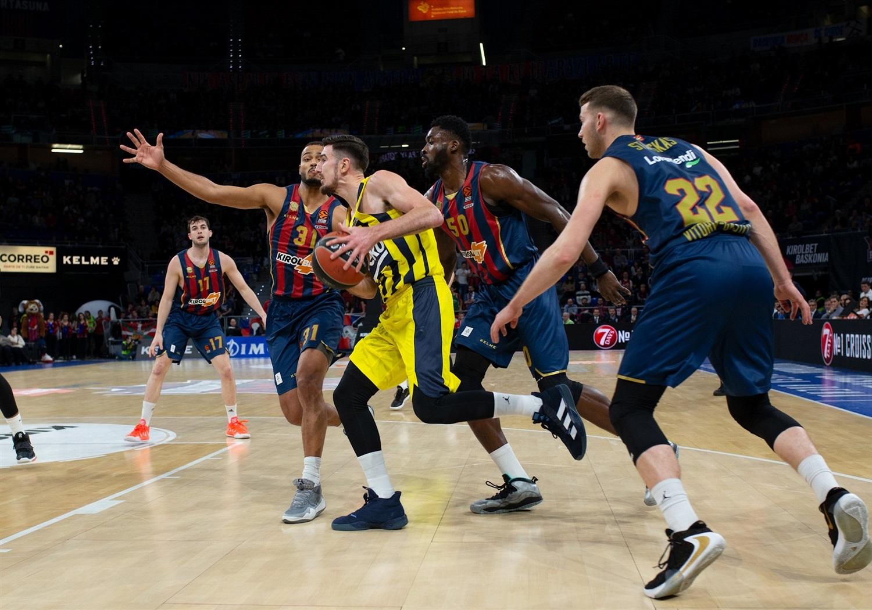 Saski Baskonia Fenerbahçe Beko maç özeti