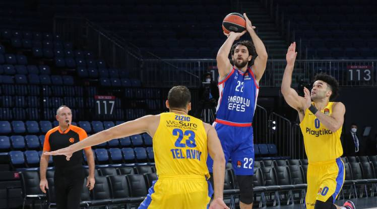 Anadolu Efes Maccabi Playtika Tel Aviv maç özeti