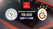Galatasaray, Rize deplasmanında! Muhtemel 11